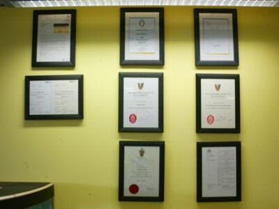 Staff Certificates
